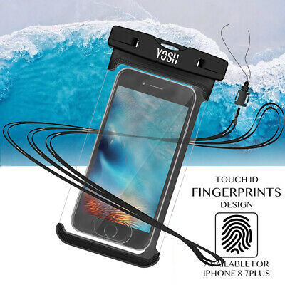 YOSH Waterproof Phone Case Dry Bag Pouch For iPhone 7 8P X XS Max IPX8 Touch-ID