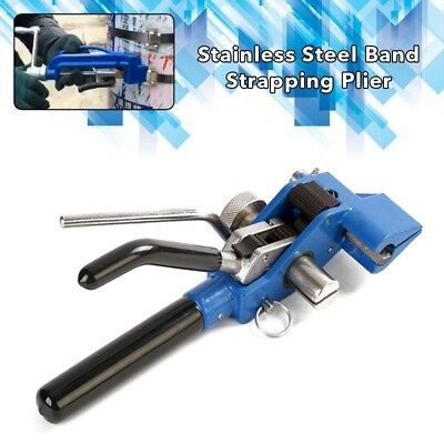 Stainless Steel Band Strapping Plier Strapper Gear Type Manual Binding Tool