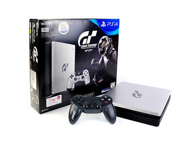 Sony PS4 Konsole - SLIM 1TB - GRAN TURISMO SPORT LIMITED EDITION + Controller