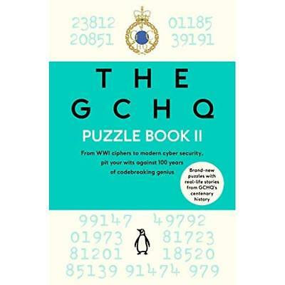 The GCHQ Puzzle Book II - Paperback NEW GCHQ 18/10/2018