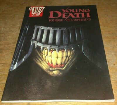 2000Ad, Young Death, Graphic Novel, 1992