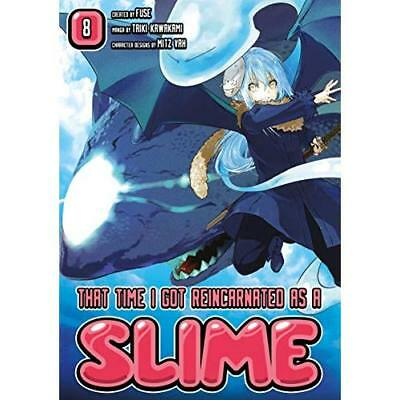 That Time I Got Reincarnated As A Slime 8 - Paperback NEW Fuse 18/10/2018