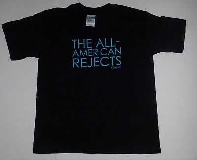 All American Rejects- NEW YOUTH CHILD Logo T Shirt- MEDIUM FREE SHIP TO U.S.!