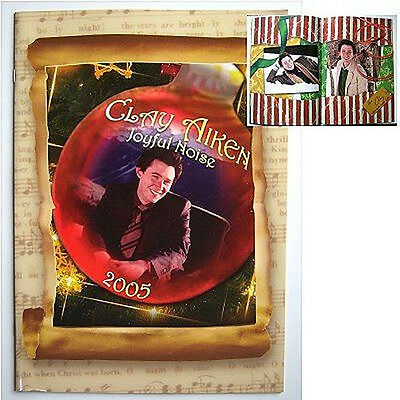 Clay Aiken! 2005 Joyful Noise Christmas Tour Book New!!
