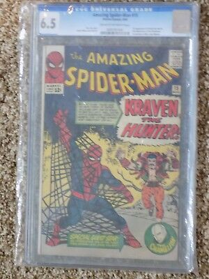Amazing Spider-Man #15  CGC 6.5  First appearance of Kraven the Hunter