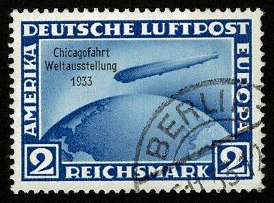Germany Stamp Scott#C44 2m Air Mail Used Well Centered