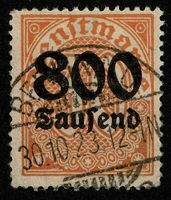 Germany Stamp Scott#O33 800th m on 30 pf Official Used Well Centered