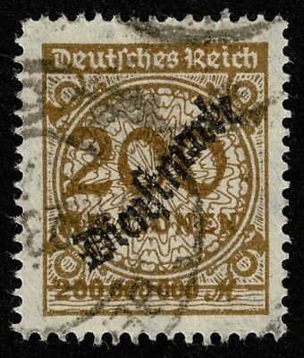 Germany Stamp Scott#O41 200mil m Official Used Well Centered