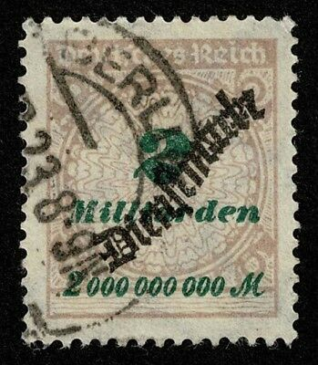 Germany Stamp Scott#O42 2mlrd m Official Used Well Centered