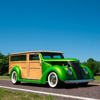 1937 Other Makes Woody Street Rod 1937 Ford Woody Street Rod