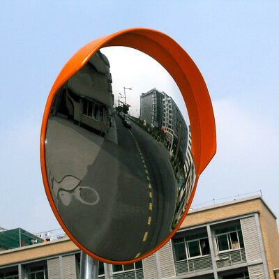 """24""""Outdoor Road Traffic Convex Mirror Wide Angle Driveway Safety & Security"""