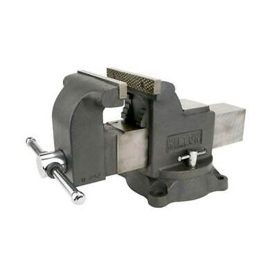 Wilton WS6 6 Inch Jaw 3.5 Inch Throat Steel Swivel Base Work Shop Bench Vise