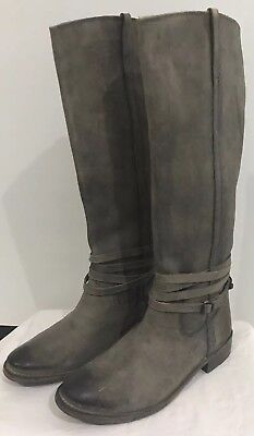 7b22ee5cd3c  447 SIZE 5.5 Frye Shirley Fatigue Oiled Suede Over The Knee Boots ...