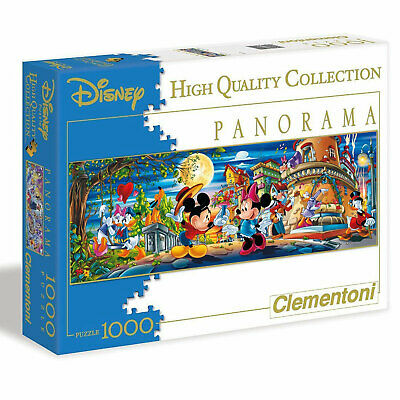 Disney Panorama-Puzzle Micky Maus 1000 Teile Clementoni HQ-Collection