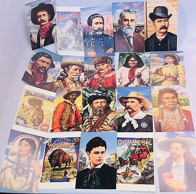 Set Of 20 Legends Of The West First Day Covers Addressed 1994