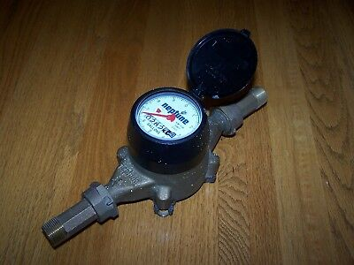 "Pre-Owned Neptune 5/8"" T-10 1087 2925 Water Meter In Excellent Working Condition"