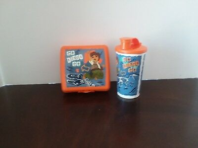 Tupperware Lunch Set Go Diego Go