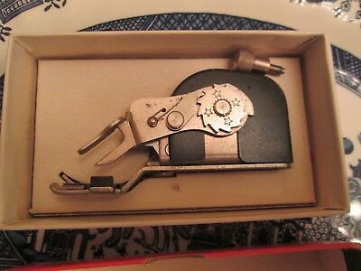 Vtg Singer Blind Stitch Attachments 160742 for Class 301 Sewing Machine In Box
