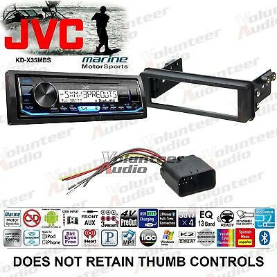 JVC CD PLAYER/RADIO/STEREO/RECEIVER+4) Speakers+Install For