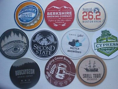 10 Craft Beer Coasters-Second State,bobcaygeon,banging Gavel,lost Forty,odell