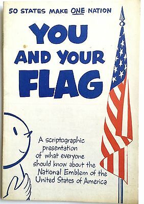 """Vintage """"you And Your Flag""""  Schaefer Brewing Co. Patriotic Booklet"""