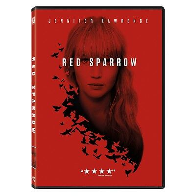 Red Sparrow (DVD, 2018) New & Sealed FREE Shipping!