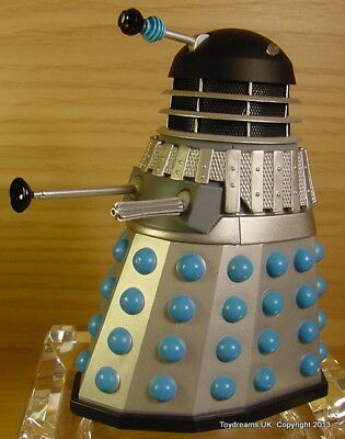 Doctor Dr Who DALEK Emperor's Guard Figure Loose NEW Silver Blue!