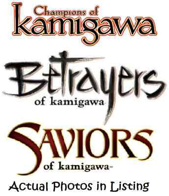 MTG Magic the Gathering Betrayers, Saviors & Champions of Kamigawa Block Mix