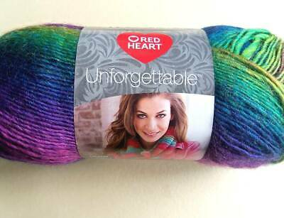 Whimsical  Red Heart Boutique Unforgettable Yarn  Lot Of 3  Same Lot #