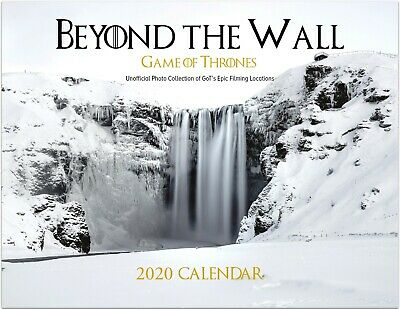 Beyond The Wall: Game of Thrones Real Life Filming Locations 2020 Calendar