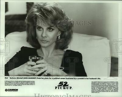 """1986 Press Photo Actress Ann-Margret stars in """"52 Pick-up"""" - nop28682"""