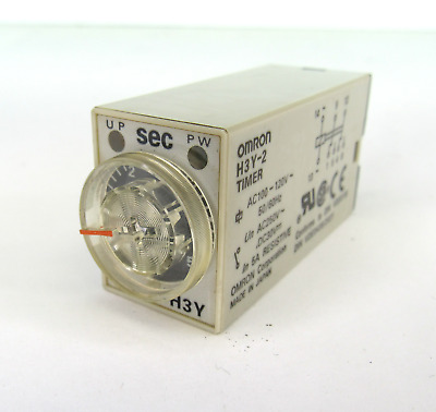 Omron H3Y-2 Timer Relay 24Vdc 5A