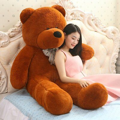 100CM Giant Big Plush Stuffed Teddy Bear Huge Soft 100% Cotton Toy