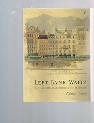 Left Bank Waltz by Lewis, Elaine Book The Cheap Fast Free Post