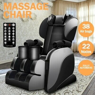 Full Body Electric Massage Chair Neck Shoulder Back Leg Zero Gravity Heating New