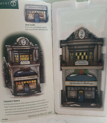 Dept. 56 Lafayette's Bakery #56.58953 Christmas In The City Series Mint in Box