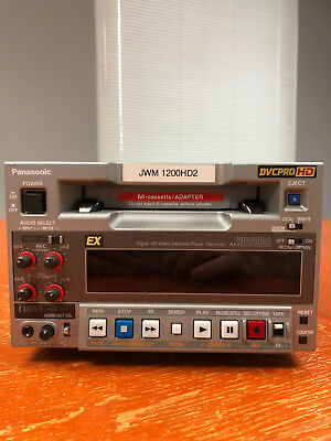 Panasonic AJ-HD1200A DVCPRO HD Player / Recorder - very well maintained