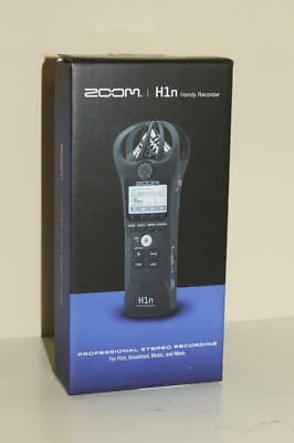 Zoom H1n Handy Pro Stereo Digital Voice Recorder MP3 Factory New in Box