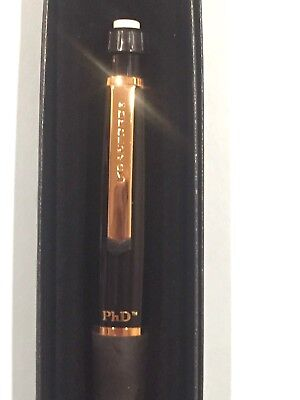 Sanford PhD Pencil .5mm Gloss Black and Gold Finished, New- Gift Boxed -SPECIAL!