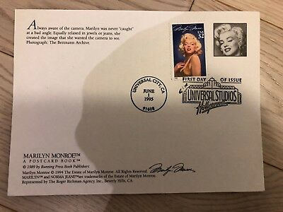 Marilyn Monroe First Day of Issue Universal Studios Hollywood  June 1,1995