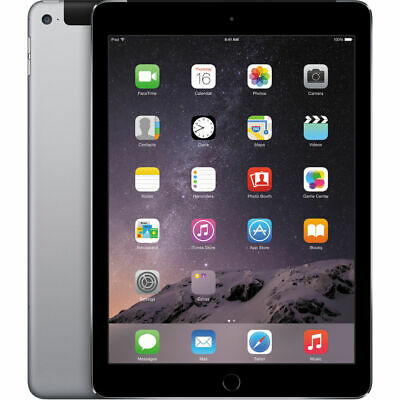 """Apple iPad Air 2 9.7"""" Retina Display 16GB Touch ID Wi-Fi Only (Space Gray)"""
