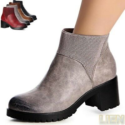 Ladies' Shoes Platform Boots Ankle Booties Boots Half-Boots Boots