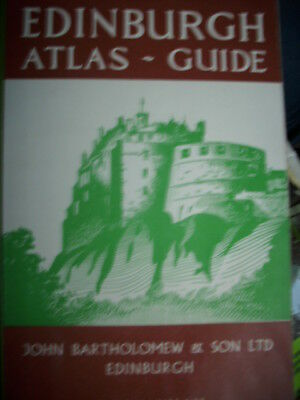Edinburgh Atlas Guide Touring map of Scotland englisch