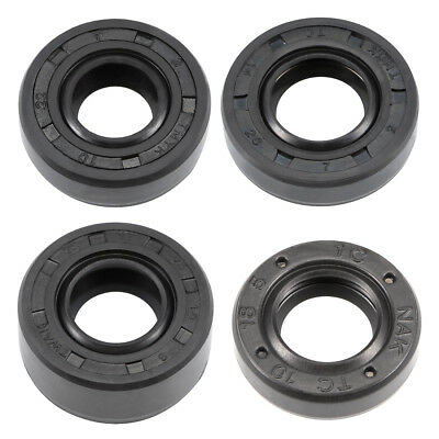 10mm-14mm Inner Dia 18-28mm OD Oil Seal TC Nitrile Rubber Cover NBR Double Lip