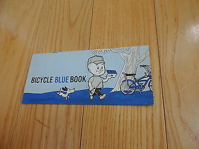 OLD 1967 GOODYEAR BICYCLE BLUE BOOK SAFETY CODE INSPECTION TIRES free shipping