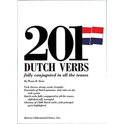 201 Dutch Verbs Fully Conjugated (201 Verbs Series) - Paperback NEW Stern, Henry