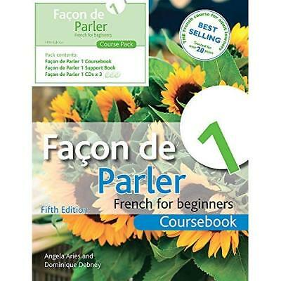 Facon de Parler 1: Course Pack, Coursebook: French for  - Paperback NEW Aries, A