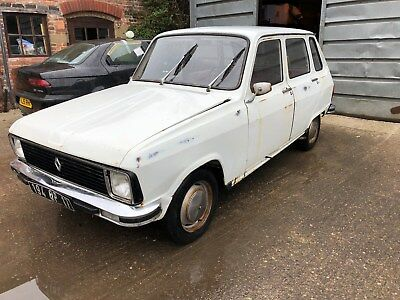 1973 Renault 6. French reg, left hand drive.