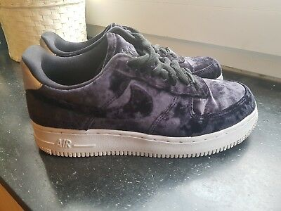 381ab7a1d3 NIKE AIR FORCE 1 samt velvet lila purple 37,5 Schuhe sneakers max ...