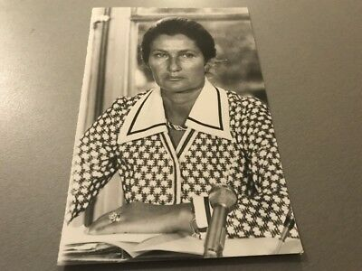 SIMONE VEIL  - PHOTO DE PRESSE ORIGINALE  13x18cm